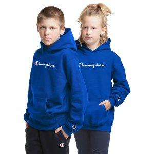 Champion儿童Logo卫衣,多色选
