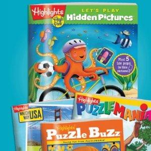 第一单$1起+送托特包+包邮Highlights Book Clubs 童书订阅优惠  美国第一儿童杂志
