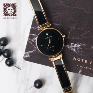 $57.05Anne Klein AK/1980BKGB 优雅钻饰女士腕表