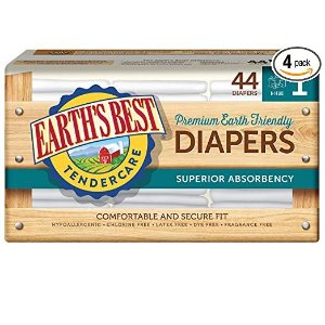 Up to Extra 50% OffEarth's Best TenderCare Chlorine-Free Disposable Baby Diapers