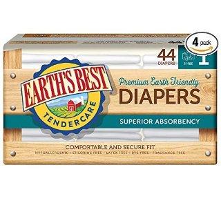 额外8.5折起Earth's Best 无氯婴儿纸尿布特卖
