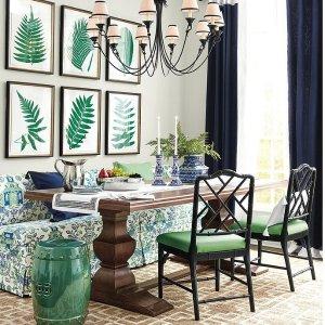 低至$12Ballard Designs 绿色小清新家具家饰热卖