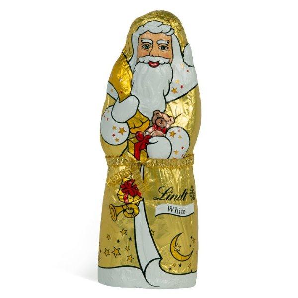 圣诞老人造型白巧克力