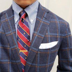 低至3折限今天:Brooks Brothers 精选男士套装、外套等热卖
