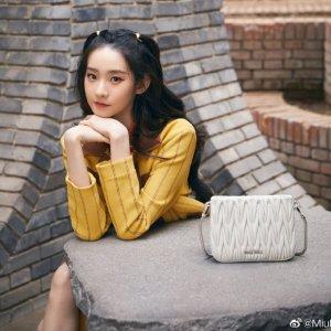 3折起+额外7折 €465收包包Miu Miu 可甜可盐仙女牌 春夏新配色褶皱包、水晶鞋