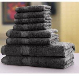 $32.99(原价$69.99)Utopia Towels 高级浴巾8件套