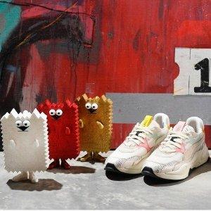 $100收棉花糖色小白鞋上新:PUMA x MICHAEL LAU联名鞋服 $120收刘雯同款卫衣