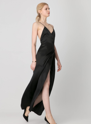 Perfect Party Ready  Silk Dress