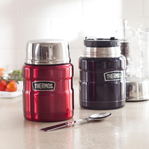 $16 Thermos Stainless King 24 Ounce Food Jar with Folding Spoon