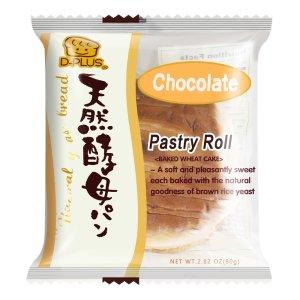 买一送一D-PLUS 天然酵母持久保鲜面包 巧克力味 80g