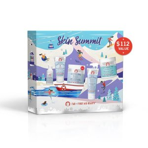 $48 ($112 VALUE)First Aid Beauty Skin Summit