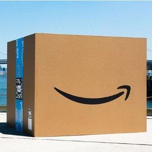 满$60立减$10+免盒子费Amazon Prime Pantry 日用品限时优惠