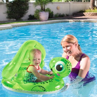 $1.99 (Was $11.99)H2OGO! Floating Turtle Baby Care Seat Pool Float