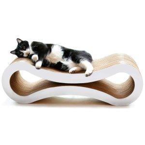 PetFusion Ultimate Cat Scratcher Lounge. [Superior Cardboard & Construction]