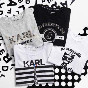 额外7折 可爱围巾$20收独家:Karl Lagerfeld Paris官网 新春促销 鞋包、服饰折上折