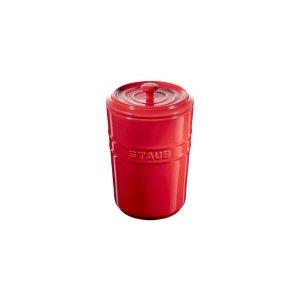 Staub储物罐 樱桃红