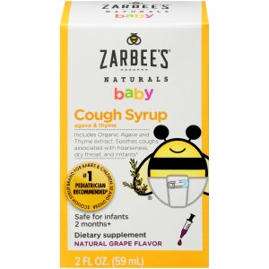 Zarbee's® 天然婴儿止咳糖浆