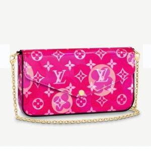 官网悄悄上线 新款抢先看!Louis Vuitton LV情人节限定 闪耀配色点燃浪漫