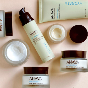 Buy one get one freewith Dead Sea Mineral products purchase @ AHAVA