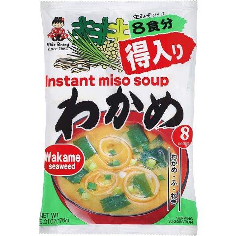 $3.41 + Free ShippingMIYASAKA JOZO USA INC Instant Miso Soup, 6.21 Ounce