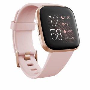 新用户立减$20 低至$129.99Fitbit Versa 2 智能手表