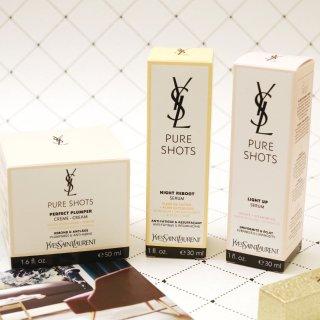 YSL Pure Shots高机能修护系列 | 年轻健康光泽肌轻松get