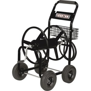 Ironton Garden Hose Reel Cart — Holds 5/8in. x 300ft.Hose