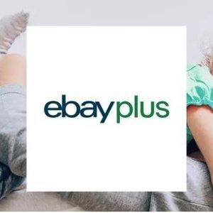 一年仅$39独家:eBay plus 会员注册 享受超多福利 拥有独家折扣
