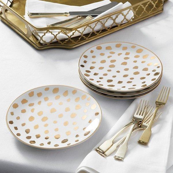 Cheetah 餐盘4件套
