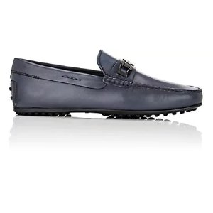 Tod's男士皮面豆豆鞋