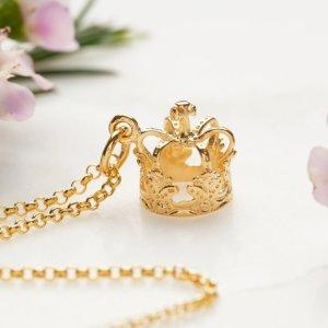Lily charmed7.5折码:BF25金皇冠项链
