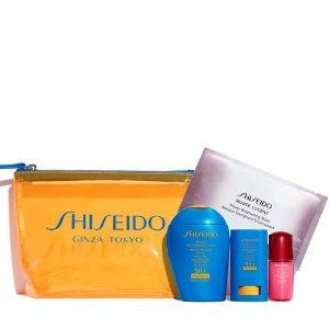 Shiseido小蓝瓶防晒 价值$103