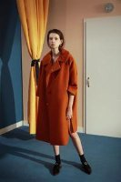 Vintage Orange Coat – 310MOOD