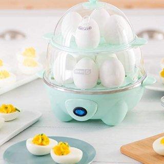 $17.99(原价$29.99)限今天:Dash 双层煮蛋器促销,四色可选