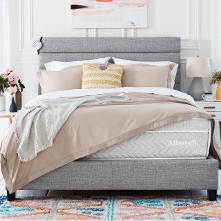 额外8.5折 $837收Queen至奢系列床垫Allswell 全新高端奢华床垫、床品、家纺用品哥伦布日热卖
