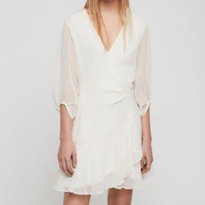 低至4折 £44收小裙子AllSaints 小裙热卖中 超多好看款式等你挑  做不做小仙女由你定