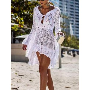 bfd686d23a95 JeasonaWomen s Bathing Suit Cover Up Lace Crochet Pool Swim Beach Dress.   16.99. Jeasona Women s ...