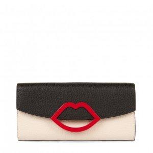 Lulu Guinness红唇钱包