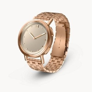 MisfitPath 36mm Rose Tone with Rose Tone Stainless Steel Bracelet