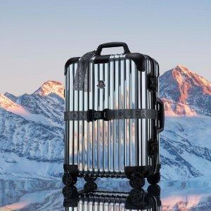 超奢华 售价€2400Moncler x RIMOWA 全新REFLECTION 主题联名行李箱登场