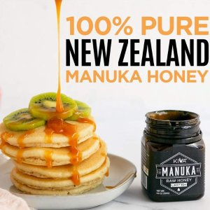 $47.45 (250g) 包邮Kiva 新西兰麦卢卡野生蜂蜜 UMF 15+