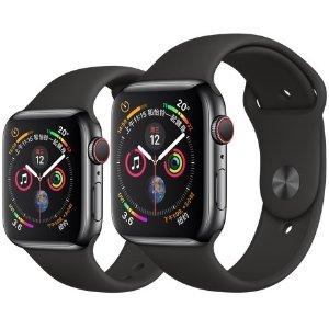 立减$75 $424.99起 多款可选Apple Watch Series 4 GPS + 蜂窝网络 40/44mm