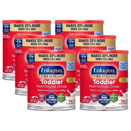 幼儿奶粉32oz加量装*6罐