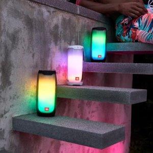 $329 炫彩灯效 双色可选JBL Pulse 4 音乐脉动四代 便携式蓝牙音箱