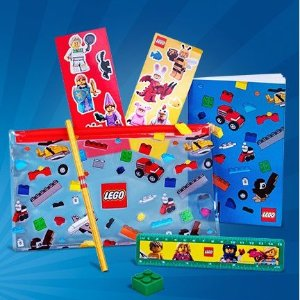 Free Back to School PackLEGO Brand Retail Promotion