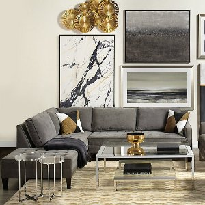 Vapor Chaise Sectional - 2 PC | Vapor Clifton Relaxed Living Room Inspiration | Living Room | Inspiration | Z Gallerie