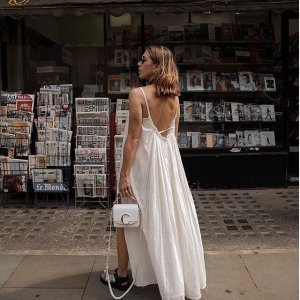 2折起 设计感基础裙£30收AllSaints 夏日裙子清仓进行时 极简剪裁又深藏温柔