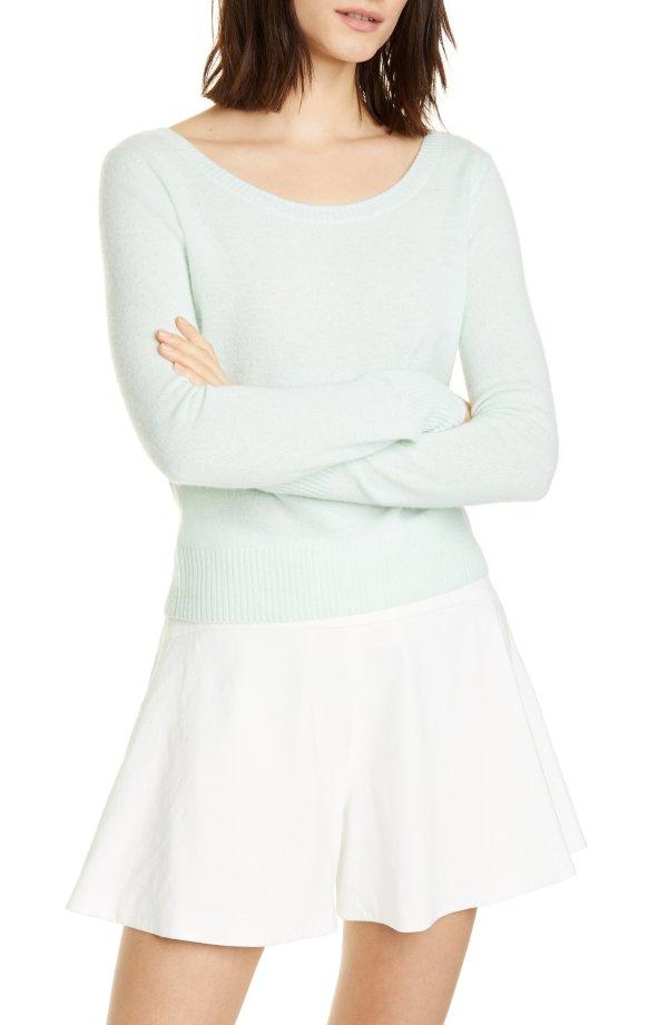 Ballet Neck 羊绒毛衣