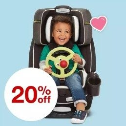 Save 20%Select Car Seats, Strollers or Baby Gear Items @ Target