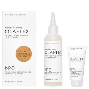 OLAPLEX 0号+3号头发修护套装新品7.8折 逆天好用
